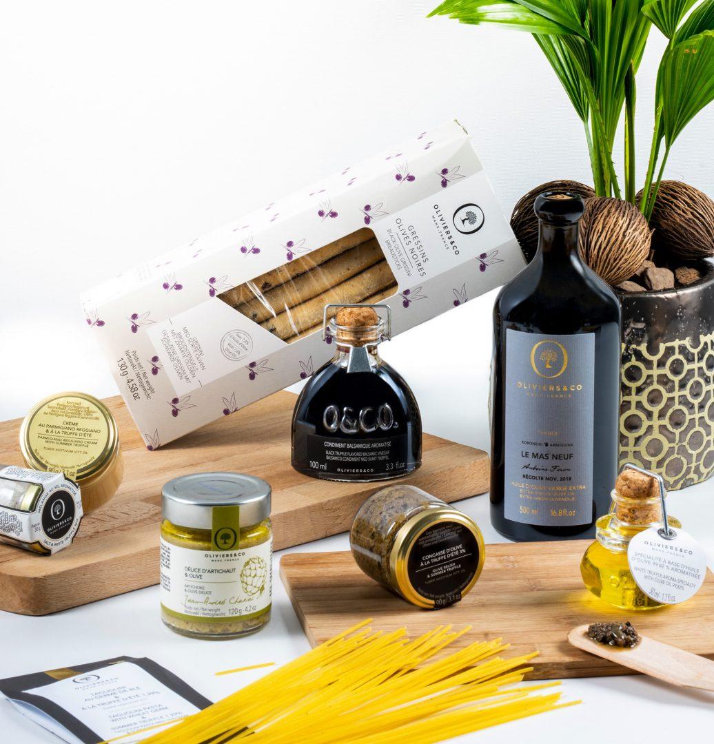 pâtes huiles olives