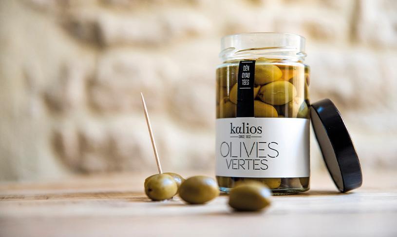 pot olives vertes