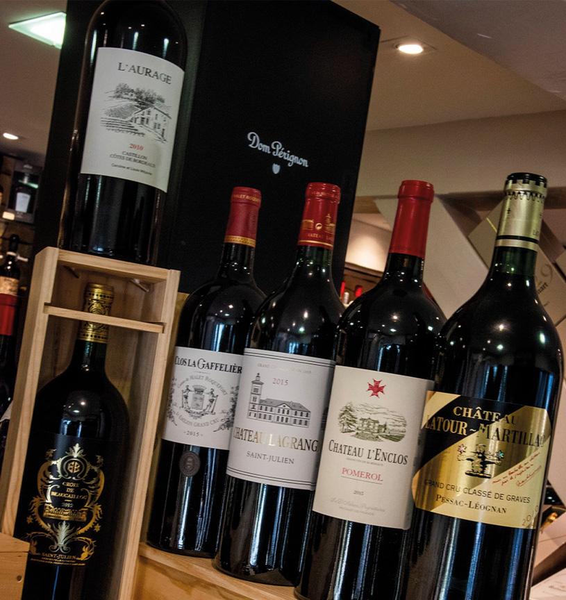 vins rouges bordeaux