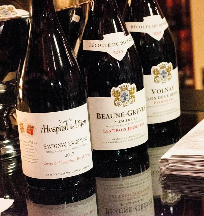 vins rouges bourgognes